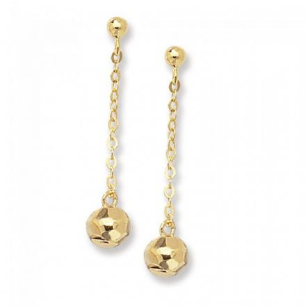 Just Gold Earrings -9Ct Earring, ER169